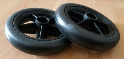 Bugaboo cameleon 1 / 2 pair of 2 new front wheels replacement set
