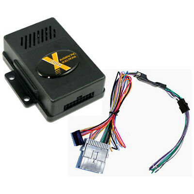 crux radio replacement interface w/chime for gm class ii bose amplified