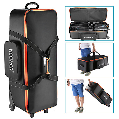 "Neewer Photo Studio Equipment Trolley Carry Bag 38""x15""x11""/96x39x29cm with"