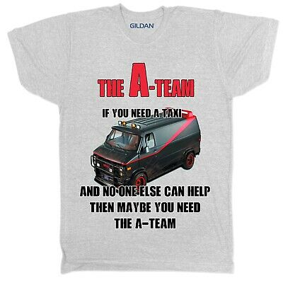 The A Team T shirt Tv Show Crime Retro Cult Film Movie Sci Fi Action Mystery