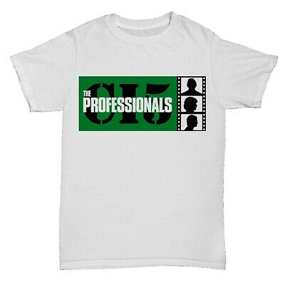 The Professionals T shirt Tv Show Crime Retro Film Movie Sci Fi Action Mystery