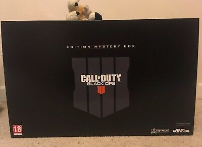 CALL OF DUTY BLACK OPS 4 MYSTERY WEAPONS BOX pro collectors EDITION PS4