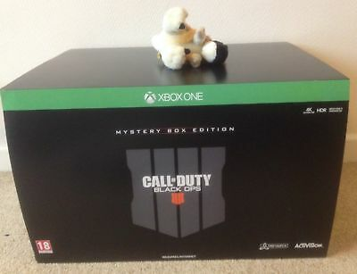CALL OF DUTY BLACK OPS 4 MYSTERY WEAPONS BOX pro collectors EDITION XBOX ONE
