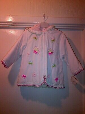 NWT Dani by Sarah Louise Girls Stunning Lightweight Hooded Jacket Age 3 yrs