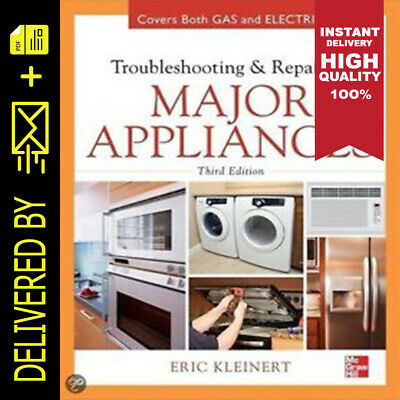 Troubleshooting and Repairing Major Appliances (E-book pdf) 🔥