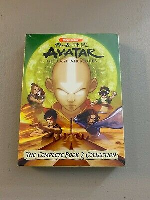 Avatar The Last Airbender The Complete Book 2 Earth Collection DVD Set NEW