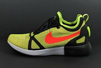 reputable site 11545 b618a Nike Duel Racer Men s Low Top Volt Bright Crimson Running Shoes 918228-700  Sz