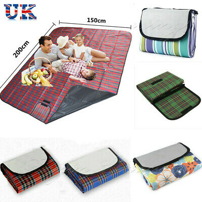 NEW Extra Large Waterproof Pad Picnic Blanket Travel Outdoor Beach Camping Mat