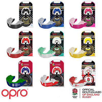 Opro Self-Fit Mma Boxing Rugby Hockey Gen3 Gold Mouthguard Sports Gum Shield