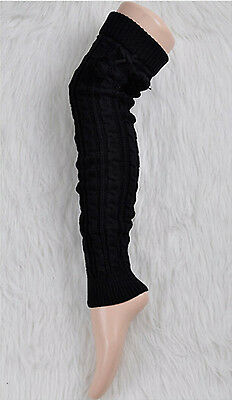 BEST PRICE Leg Warmers Women Knit Thick Long Over Knee High Hosiery Socks  LE