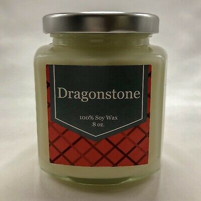 DRAGONSTONE Candle, Game Of Thrones Inspired, Hand Poured, 100% Soy wax