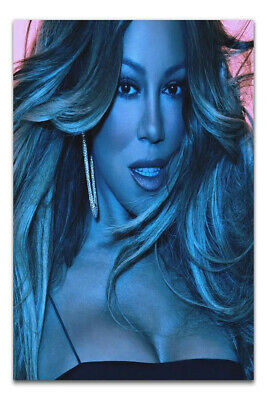 """Mariah Carey Caution Cover Poster Album Ft Ty Dolla $ign Art Print 24×24/"""" 32×32/"""""""