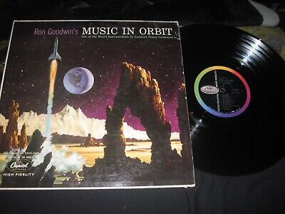 Ron Goodwin's Music In Orbit FULLY TESTED GREAT SOLID SHINY VG NORMAL WEAR