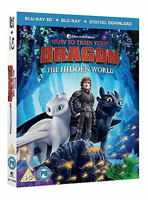How to Train Your Dragon The Hidden World (Blu-ray 2D/3D) PRE-ORDER!!