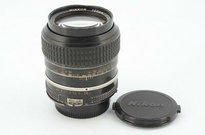 As-is Nikon Ai Nikkor 105mm F/2.5 MF Lens From Japan!! 100822