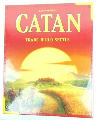 Settlers of Catan Board Game - Trade Build Settle 4 Players 5th Edition