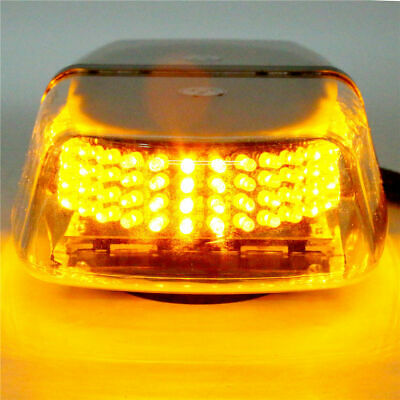 Great 12V 240 LED Vehicle Roof Top Emergency Hazard Warning Strobe Light-Amber