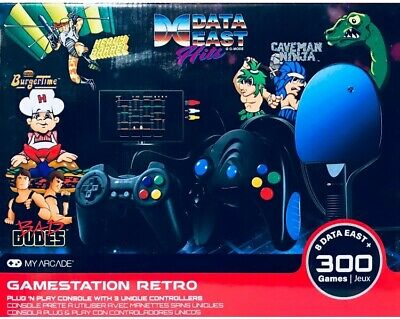 My Arcade Data East Hits Gamestation Retro Gaming System 300 games DGUNL-3245