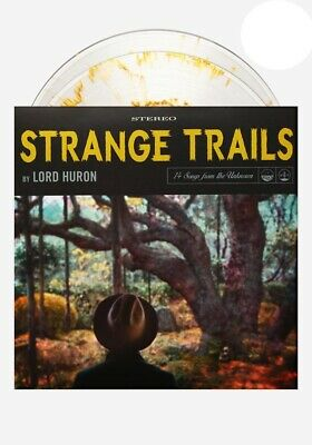 Lord Huron  – Strange Trails // 2xLP Vinyl limited to 750 on Clear With Gold S