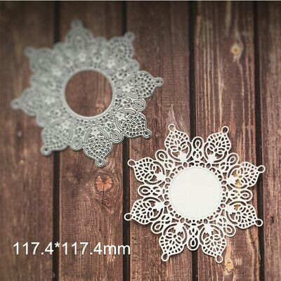 Snow Lace Frame Metal Cutting Dies Stencil Scrapbooking Embossing DIY Handcrafts