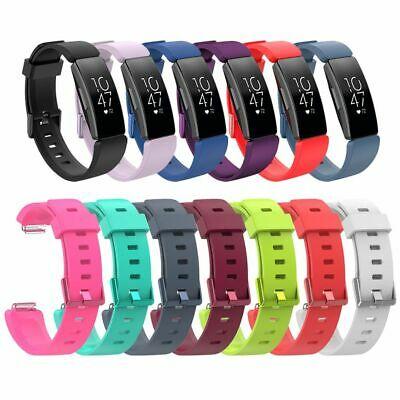 Silicone Sports Strap Watch Wrist Band Replacement For Fitbit Inspire/Inspire HR