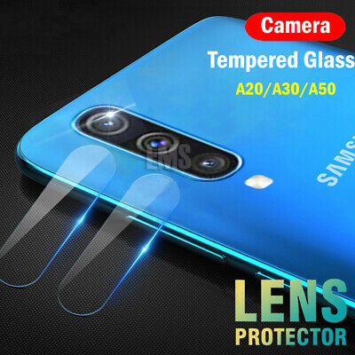 Samsung Galaxy A20 A30 A50 A70 Camera Lens Tempered Glass Clear Screen Protector