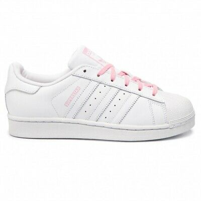 adidas superstar righe rosa