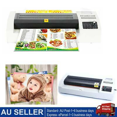 A3 Laminating Laminator Plastic Cold Hot Mounted Thermal Roller Pouch Menu