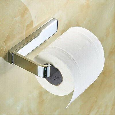 Stainless Steel Bathroom Wall Mounted Accessories Toilet Roll Paper Holder Tool