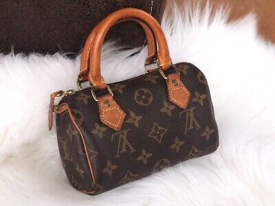 d32dd935e47a5 Original Louis Vuitton vintage mini Speedy Henkeltasche   Tasche   Bag  TH0954