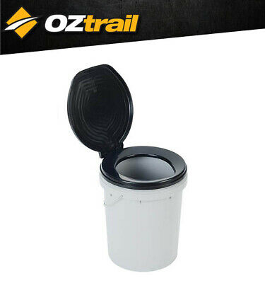 Oztrail Ready Restroom Toilet Bucket Camping Touring Outdoors Ensuite Campsite