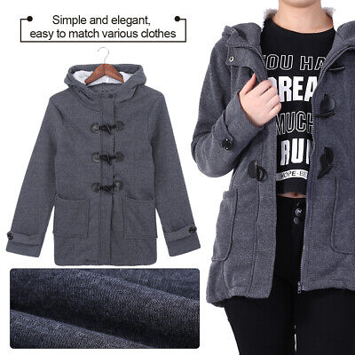 Women Lady Fashion Winter Hooded Slim Coat Jacket Casual Warm Outwear Overcoats