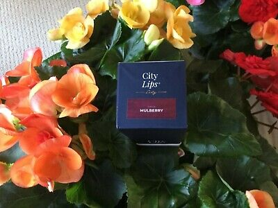 CITY LIPS ** MULBERRY** Advanced Lip Plumper Treatment / New and Sealed