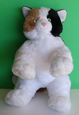 """BABW Retired Build a Bear Plush Farmers Market Limited Ed Calico Kitty Cat 15"""""""
