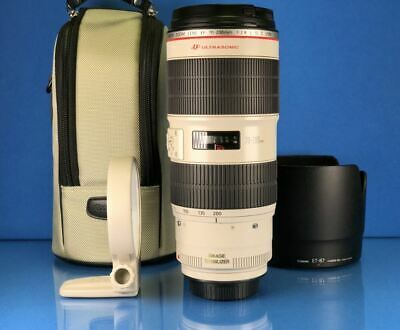 Canon EF 70-200mm f/2.8L IS II USM Lens New