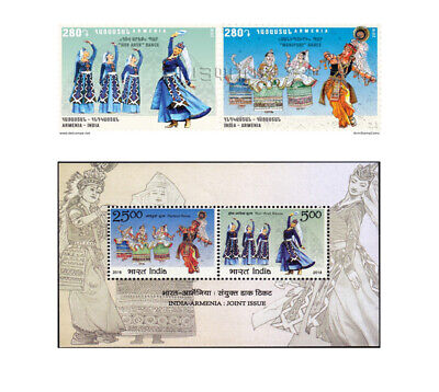 Armenia Mnh** 2018 Rcc Reserves Shikahogh Syunik Mount Khushtup Nature Armenia Stamps