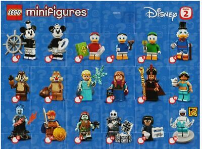 LEGO® Disney Series 2 Mini Figures - Inventory Sellout Pricing- Buy 3+ Free Ship
