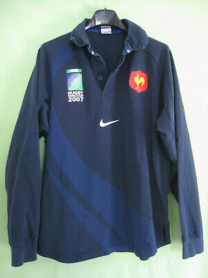 Maillot Rugby Equipe QUINZE de FRANCE World Cup 2007 FFR Nike - M
