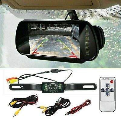 Car Reverse Camera Kit, Reversing Rear View Parking HD Monitor in Car Cam Mirror