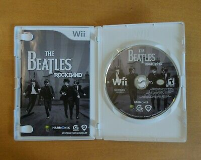 THE BEATLES: ROCK Band Game Xbox 360 RockBand New & Sealed