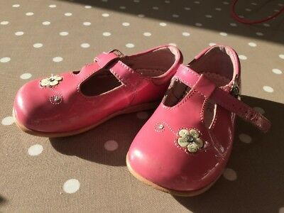 Startrite Girls Shoes Size 6 Pink Patent T-bar Mary Janes Maryjane