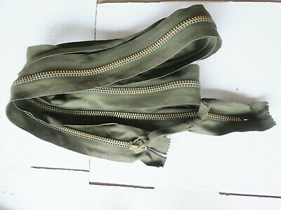 US Army heavy zipper Fastner for Canvas Covers Tents Willys MB Cal .50 Airborne