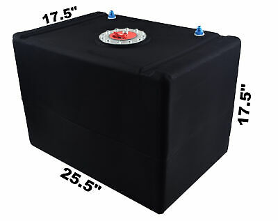 Racerdirect 32 Gallon Poly Fuel Cell Aircraft Cap # 8 Fittings