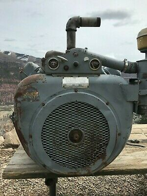 WISCONSIN V465D GAS Engine, w/ Rockford PTO Good Low Hours