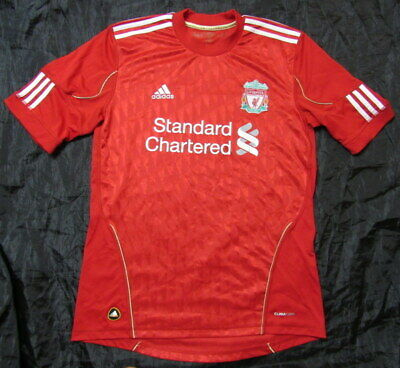 The Reds FC LIVERPOOL home jersey shirt ADIDAS 2010-2012 trikot adult SIZE M