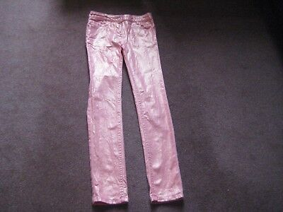 Girls shiny Party Trousers Age 9-10 M & S