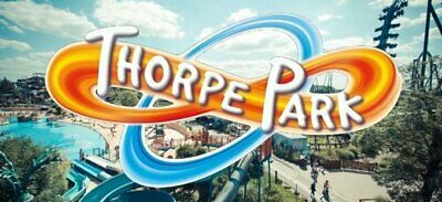 THORPE PARK 2 x Tickets  booking form &10 Tokens