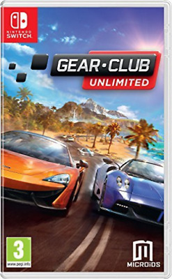 Gear Club Unlimited Nintendo Switch Game GAME NEW