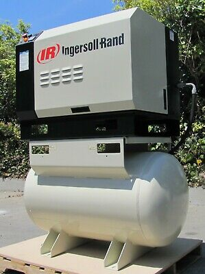 Ingersoll Rand SSR 10hp Rotary Screw Air Compressor 10,655 total hours