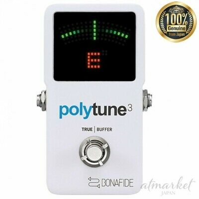 Tc electronic Tuner 966130001 Polyphonic POLYTUNE 3 White genuine from JAPAN